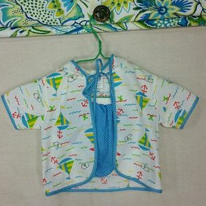 Adorable Vintage 2 p. Boating outfit EUC